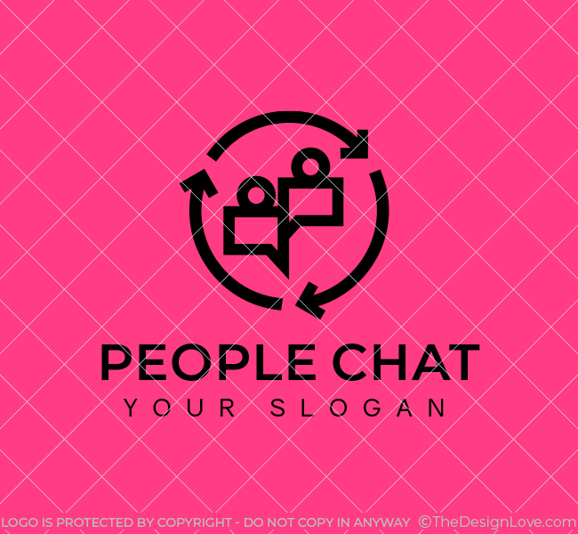 People-Chat-Stock-Logo