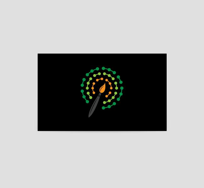 558-Data-Art-Business-Card-Back