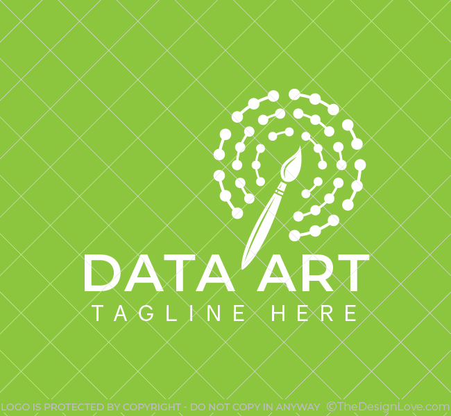 558-Data-Art-Pre-Designed-Logo