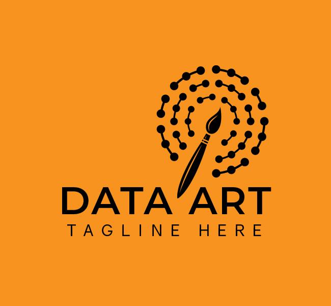 558-Data-Art-Start-up-Logo