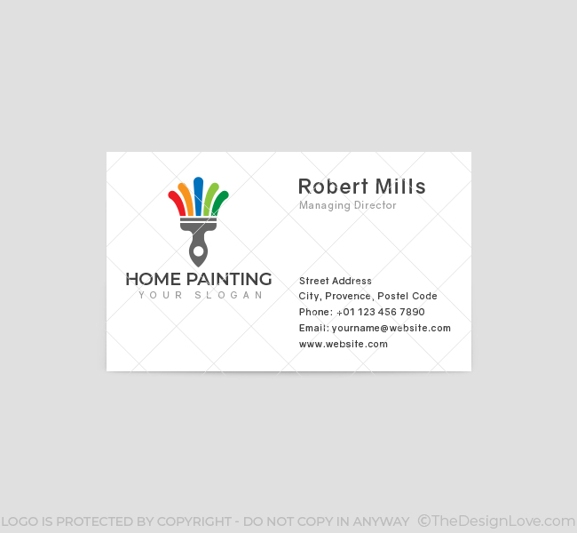 560-Home-Painting-Business-Card-Front