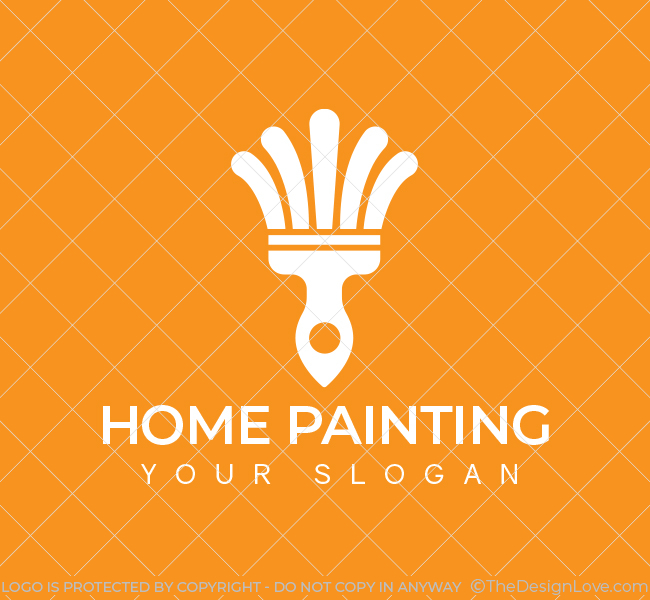 560-Home-Painting-Pre-Designed-Logo
