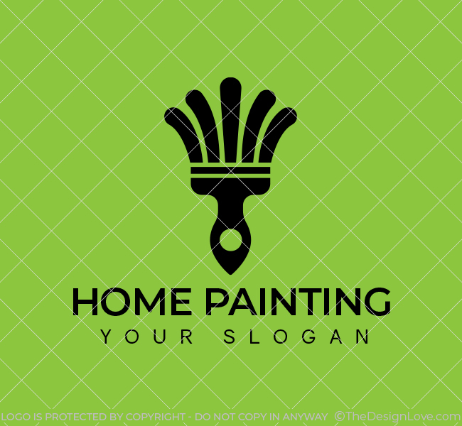 560-Home-Painting-Start-up-Logo