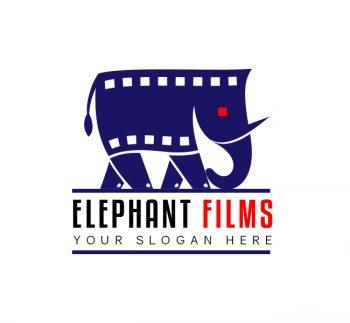 Elephant Films Logo & Business Card