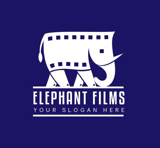 565-Elephant-Films-Pre-Designed-Logo