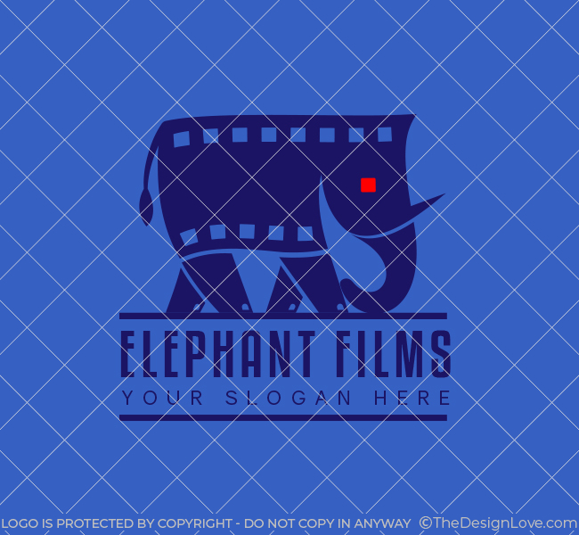 565-Elephant-Films-Stock-Logo