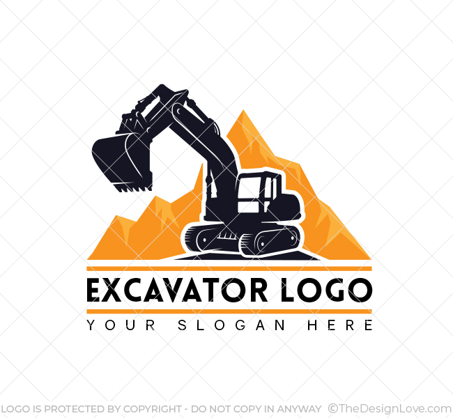 Excavator-Truck-Logo