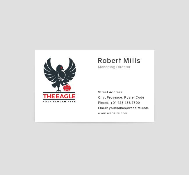 Premium-Eagle-Business-Card-Front