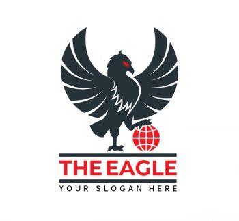Premium Eagle Logo & Business Card
