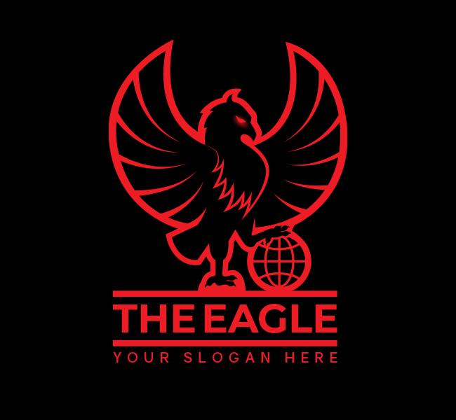 Premium-Eagle-Stock-Logo
