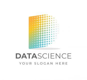 D Letter Data Science Logo & Business Card