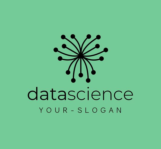 562-Creative-Data-Science-Pre-Designed-Logo