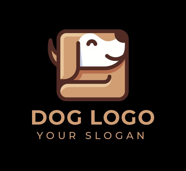 584-Dog-Logo-Pre-Designed-Logo