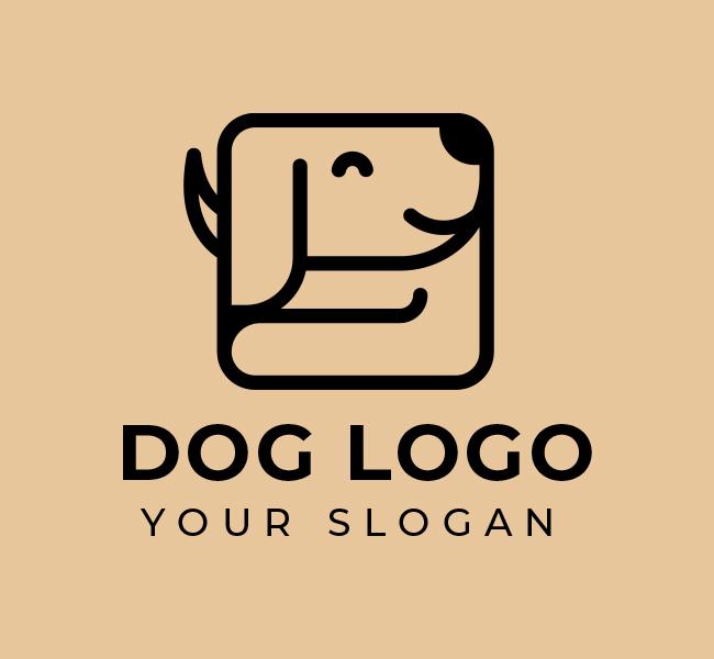 584-Dog-Logo-Start-up-Logo
