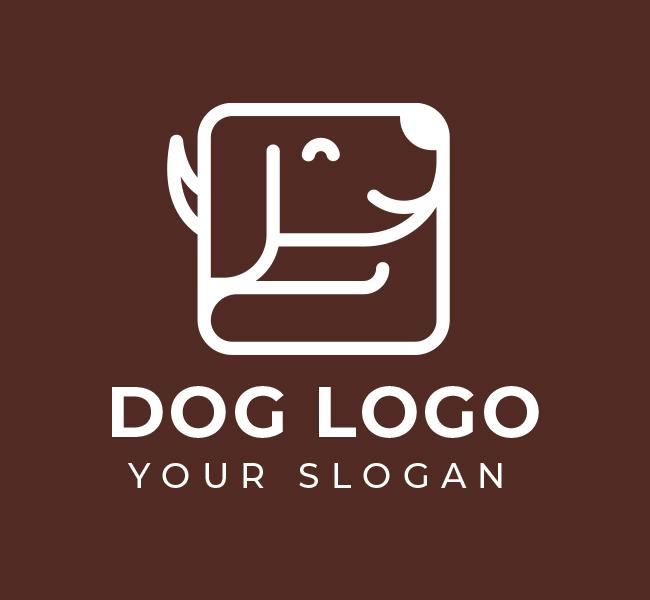 584-Dog-Stock-Logo