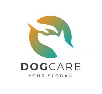 Dog Adoption Logo Template