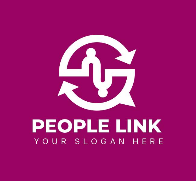 People-Link-Pre-Designed-Logo