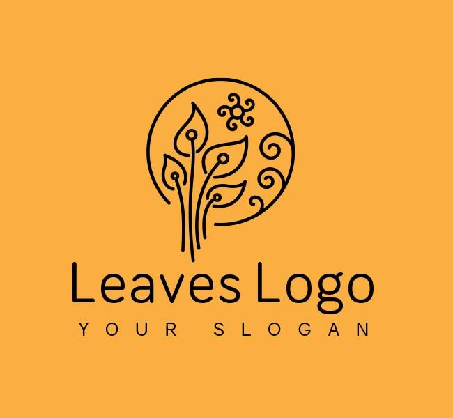 Green-Leaves-Start-up-Logo