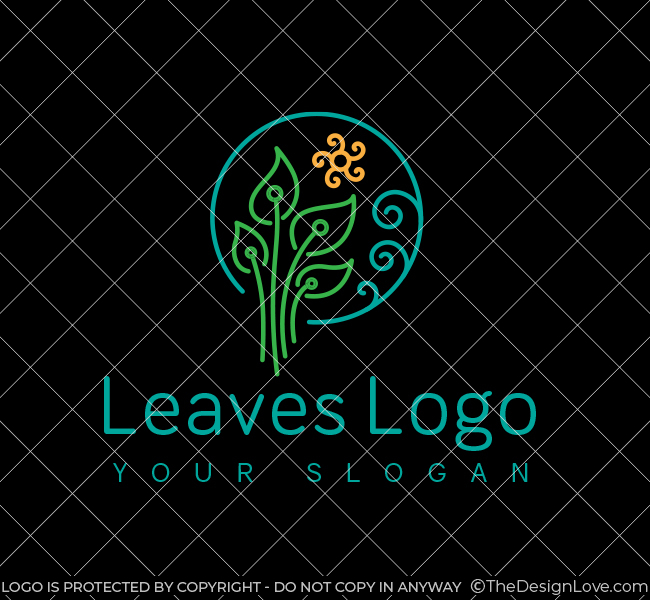 Green-Leaves-Stock-Logo