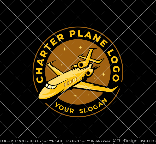 571-Charter-Plane-Stock-Logo