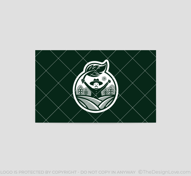 590-Farmer-Logo-Business-Card-Back