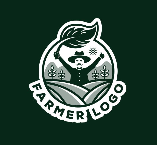 590-Farmer-Logo-Pre-Designed-Logo