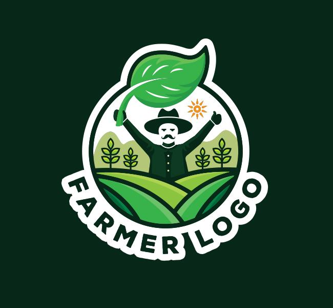 590-Farmer-Logo-Stock-Logo