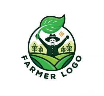 Farmer Logo & Business Card Template