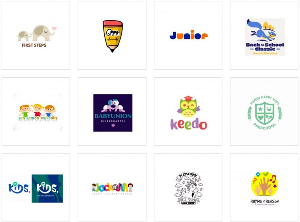 best-play-school-logos