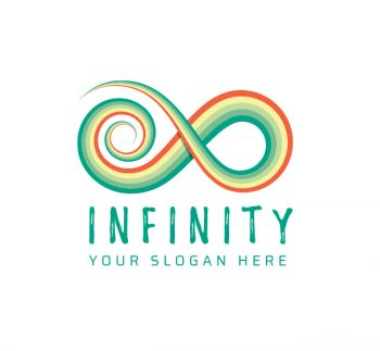 Colorful Infinity Logo & Business Card
