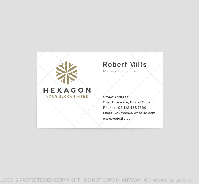 574-Hexagon-Business-Card-Front