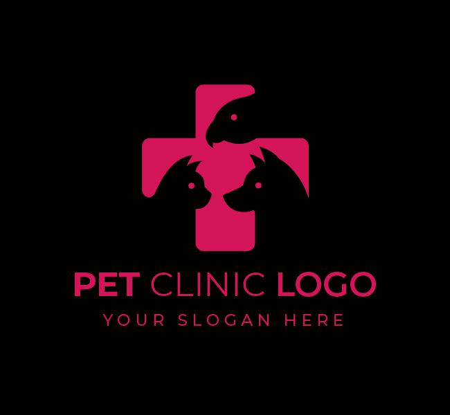 577-Pet-Clinic-Stock-Logo