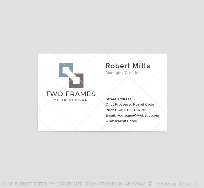582-Frame-Business-Card-Front