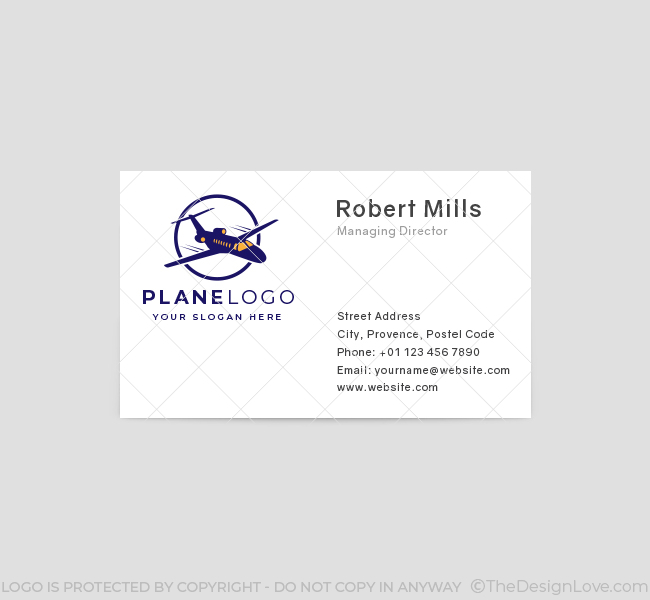 586-Plane-Business-Card-Front