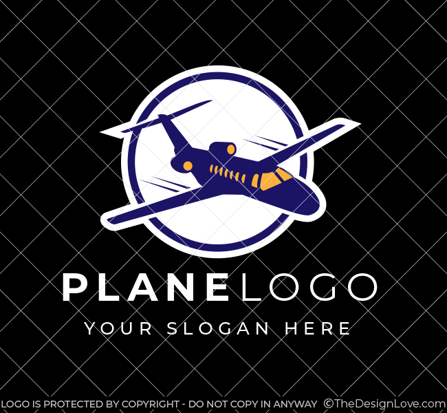 586-Plane-Stock-Logo