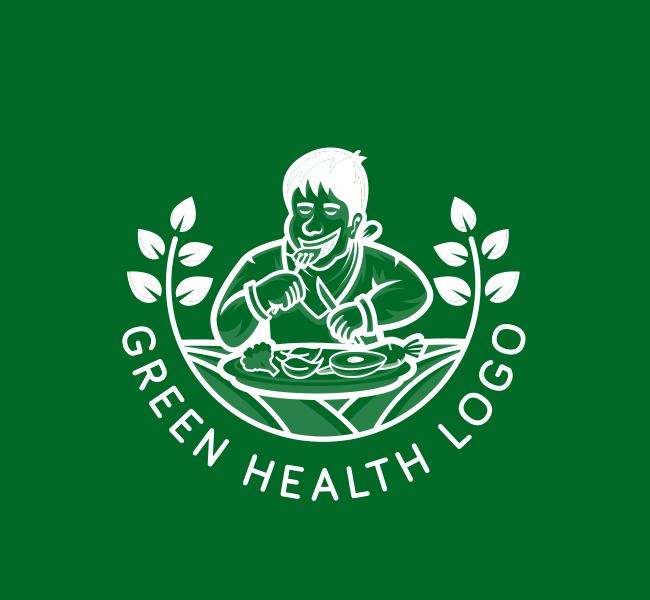 592-Green-Health-Pre-Designed-Logo