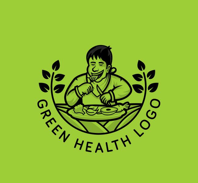 592-Green-Health-Start-up-Logo