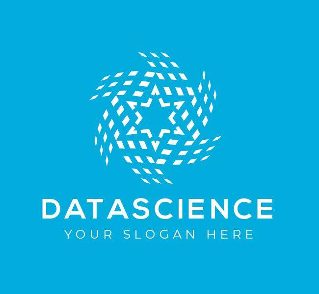 606-Star-Data-Science-Pre-Designed-Logo