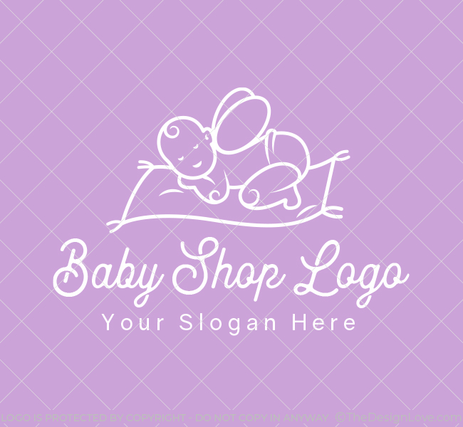 610-Magic-Baby-Shop-Pre-Designed-Logo