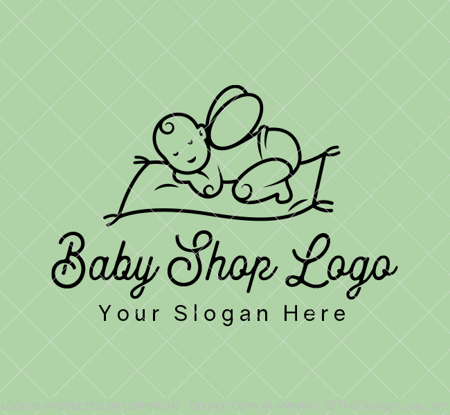 610-Magic-Baby-Shop-Start-up-Logo