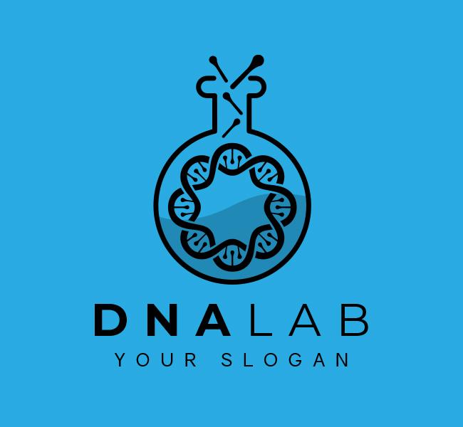 611-DNA Pre-Designed-Logo