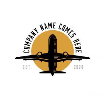 Plane Travel Logo & Business Card