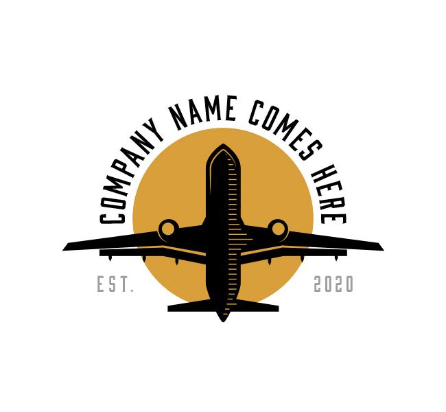 Plane-Travel-Logo