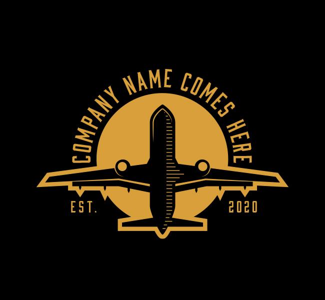 587-Plane-Travel-Stock-Logo