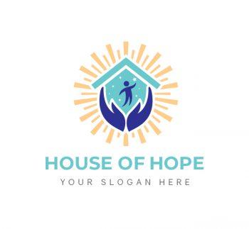 House Of Hope Logo & Business Card