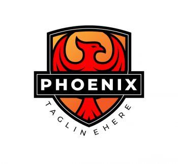 Phoenix Bird Logo & Business Card