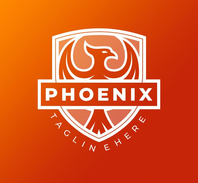 597-Phoenix-Bird-Pre-Designed-Logo
