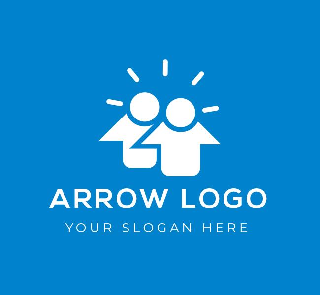 602-Arrow-Logo-Pre-Designed-Logo