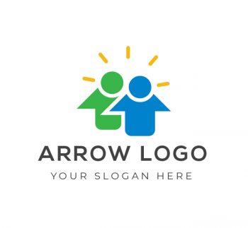 Arrow Logo & Business Card Template