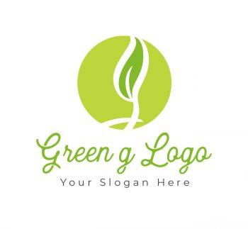 Green G Logo & Business Card
